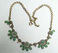 J CREW Green Necklace