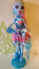 * Monster High Abbey Bominable Dot Dead Gorgeous poupée Plus Support, Brosse & Sac * RARE