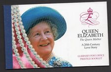 Guernsey 1999 Queen Mother  Stamp Book SB 66 UM