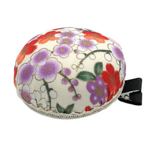 Cloth Pincuhion Needle/Pin Cushion with Fixed Clip Embroidery Sewing Tool
