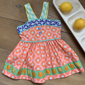 Matilda Jane Size 6 Happy And Free Meringue Pontoon Halter Tunic Top