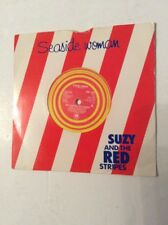 """Seaside Woman Suzy And The Red Stripes 7""""  Single Yellow Vinyl AMS 7461 RARE"""