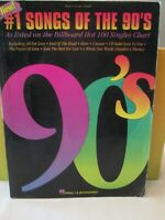#1 Songs of the  90s  - Sheet Music Songbook Guitar Piano Vocal Hal Leonard