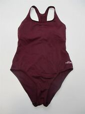 030cdbcbb98e4 NABAIJI Swimsuit Women's Size S Racerback Sporty Burgundy Hi Cut One Piece