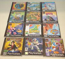Lot de 13  jeux PLAYSTATION 1 PS1