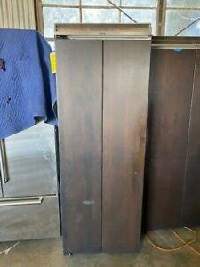 Viking Designer Series DFRB364R and DFFB304L fridge/freezer combination