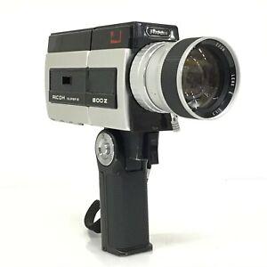 Ricoh 800Z Super 8 Cine Film Camera w/ 7.5-60mm F1.7 Lens [JC]
