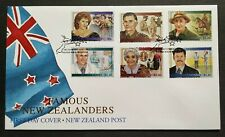 1995 New Zealand Famous New Zealanders 6v Stamps FDC