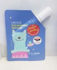 UStar Eye Shimmer Mousse Sparkle Eyeshadow Long - Wearing 2g. # 02 Coral Peach