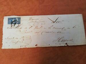 peru circulated cover 1892 postage due 20 cents franco servicio oficial huaraz