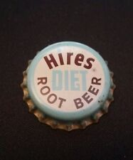 Vintage Hires Diet Root Beer cork unused SODA BOTTLE CAP