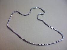 925er Sterlingsilber 55 cm lange 4 mm dicke Kette 31 Gramm