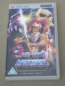 PSP UMD – HE-MAN AND THE MASTERS OF THE UNIVERSE (VOLUME ONE) NEW CASE