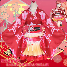 Anime Love Live! Maki Nishikino Cosplay Japanese Kimono Lolita Dress Costume