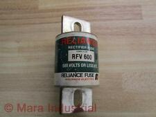 Reliance RFV 600 Rectifier Fuse - Used
