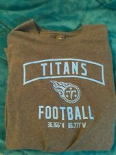 Brand New - Tennesse Titans  3x TShirt (100% goes to charity)