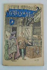 Le Voyage History of Louis Vuitton French Vintage 1901 Paris Antique Luggage MW7