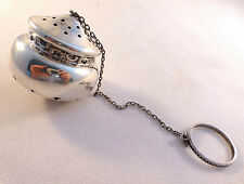 Decorated Wallace Sterling Tea Ball