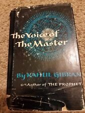 Vintage 1958 The Voice of the Master by Kahul Gibran