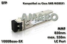 Cisco SMB Linksys MGBSX1 komp SFP 1G SX LC 550m 850nm MMF Transceiver