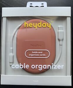 HeyDay Holds And Organizes Cords Cable Organizer Dusty Pink New