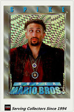 Australia Dynamic Super Mario Bros Trading Cards Prism Card P1 Spike
