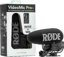 Rode VideoMic Pro+ Compact Directional On-Camera Shotgun Condenser Microphone