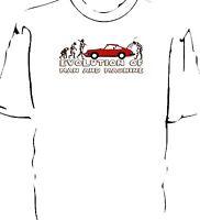 'Evolution of Man' classic car breakdown t-shirt.  Classic 911