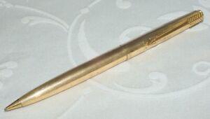 SUPERB VINTAGE PARKER 61 PROPELLING PENCIL - ROLLED GOLD - EXCELLENT