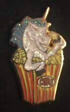 """Mark Serlo """"Popcorn Unicorn"""" Blue Variant Pin Limited Edition Sold Out"""
