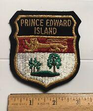 Prince Edward Island PEI Canada Provincial Crest Flag Souvenir Patch Badge