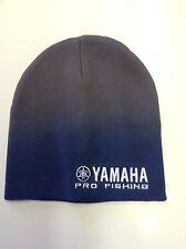 New Authentic Yamaha Blue/Gray Pro Fishing Beanie