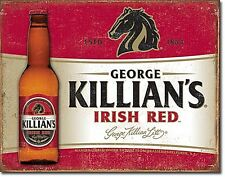 George KILLIAN'S IRISH RED METAL SIGN 400mm x 305mm (DE) ridotta