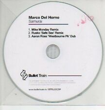 (167L) Marco Del Horno, Samurai - DJ CD
