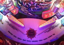 CIRCUS CIRQUS VOLTAIRE Pinball Ultra Violet Flipper Light Mod