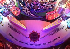 Circo Voltaire Pinball Ultra Violeta Flipper Luz Mod