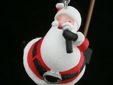 2010 Hallmark Ornament - Santa Claus is Coming to Town FEATURES MICHAEL JACKSON