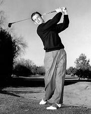 Jay Herbert 1960 PGA champion follow-thru photo