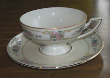 Cup & Saucer Set Johann Haviland China PRIMROSE Bavaria Germany Excellent!