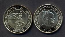 DENMARK 20 Kroner 2003 Com. CHRISTIANSBORG TOWER UNC