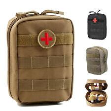 Tactique molle EMT poche Medic secouriste trousse de premiers secours avec patch