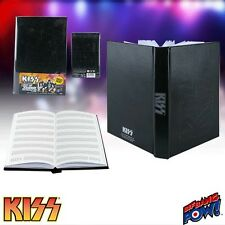 "KISS ""LIGHT UP JOURNAL"" with Music Manuscript Paper"