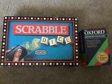 Vintage Scrabble Dice Game By  Spears Games, 100% Complete, Nice Condition