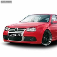 Front bumper R32 look Sport Package ABS plastic bodykit MK4 tuning chrome grill