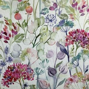 """Voyage Maison """"Country Hedgerow Lotus Linen"""" Fabric Per Meter Curtains Cushions"""
