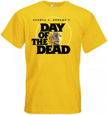 Day Of The Dead v17 T-shirt yellow horror movie Romero all sizes S-5XL