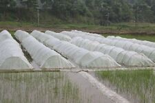 Agfabric 20'Wx100'L Standard Insect Screen & Garden Netting against Bugs White