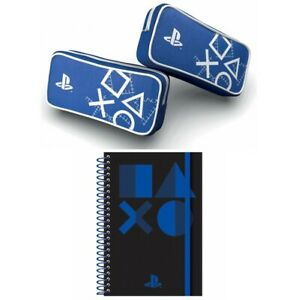 Playstation Pencil Case Stationery  A5 notebook