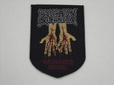 RADIATION SICKNESS DEATH METAL WOVEN PATCH