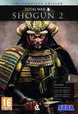 Total War Shogun 2 Complete w/ Rise of the Samurai Fall of the Samurai all DLCs